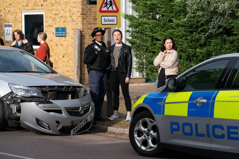 EastEnders' Linda Carter's Shock Arrest