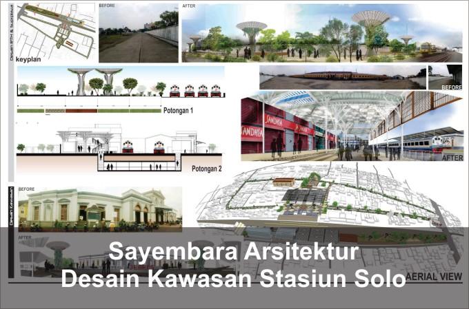 Desain Kawasan Stasiun Solo