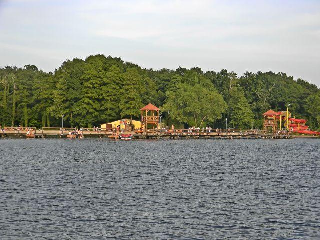 polskie jeziora, Sława, wypoczynek