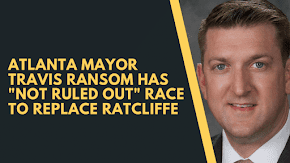 "Travis Ransom sounds like a candidate and has ""not ruled out"" race for Congress"