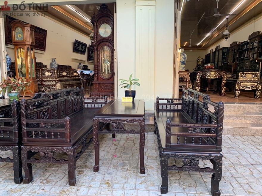 +11 mẫu bàn ghế trường kỷ Huế đẹp nhất  vạn người mê - Ảnh: Dotinh.com