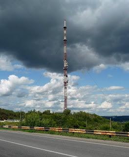 Изюм. Гора Кременец (Кремянец). Телевизионная башня