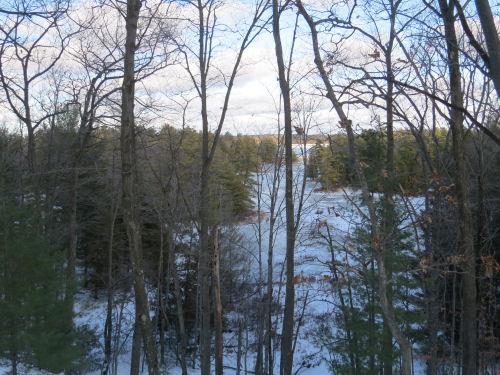 arm of Hamlin Lake