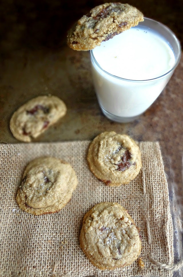 Healthy Oat Chocolate Chip Cookies