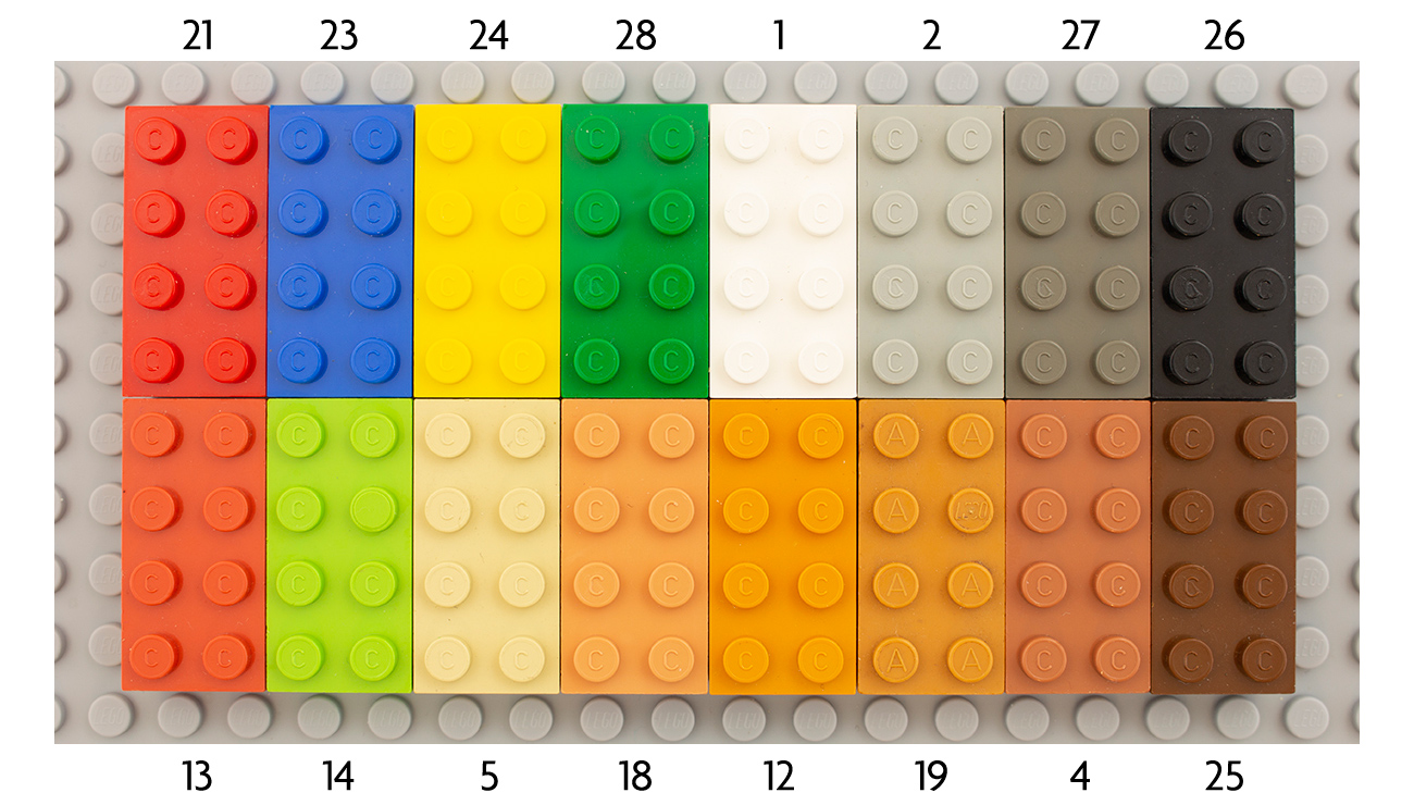 Fabuland Lives On: the colours | New Elementary, a LEGO