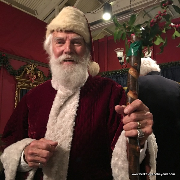 Father Christmas at The Great Dickens Christmas Fair in San Francisco
