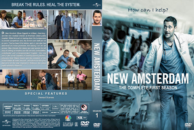 New Amsterdam Season 1 DVD Cover