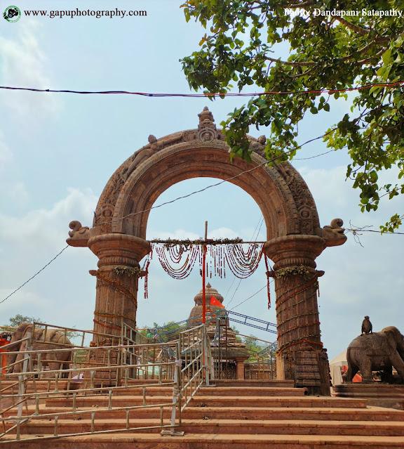 Entrance of Maa Taratarini Temple, Odisha