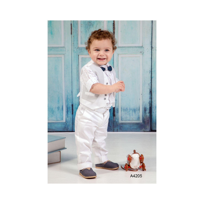 Modern baptismal clothes for boys A4205