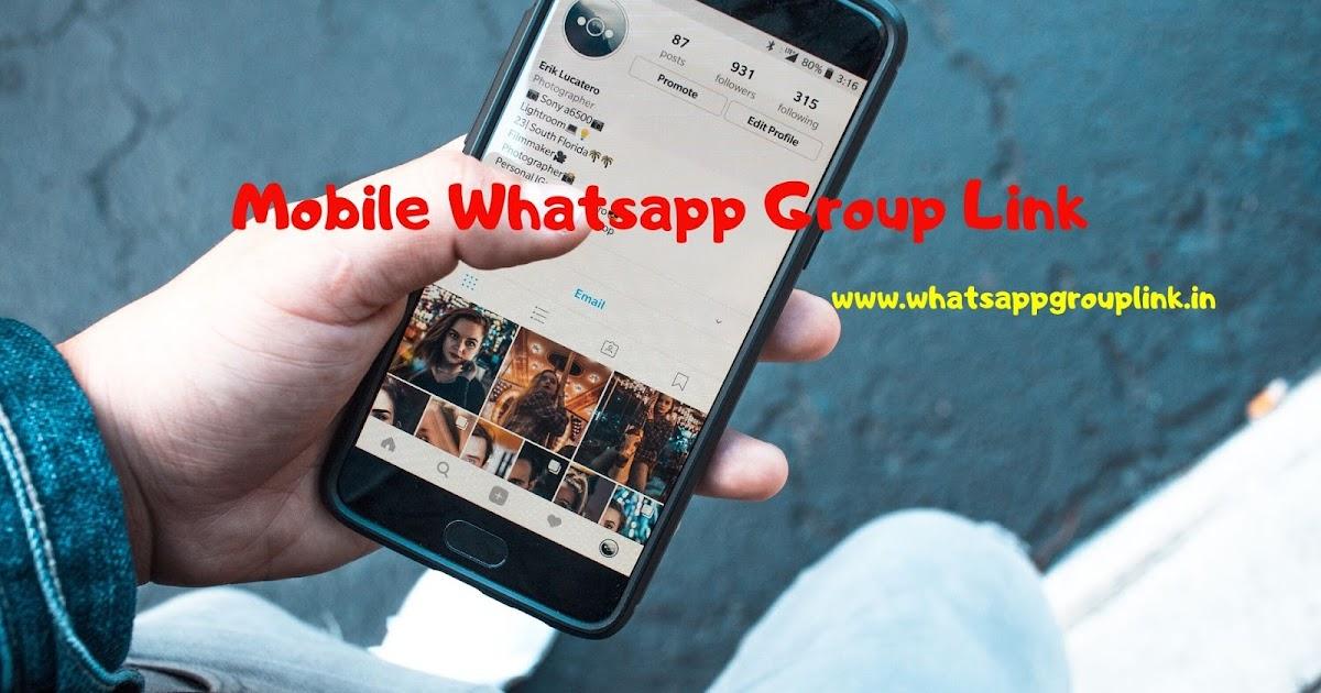 Mobile Whatsapp Group Link Whatsappgrouplink