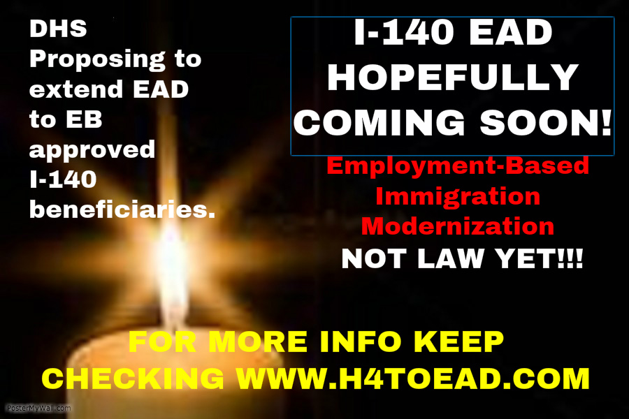 H4 Work Authorization, Work Permit or H4 EAD and H4 Visa Issues: I