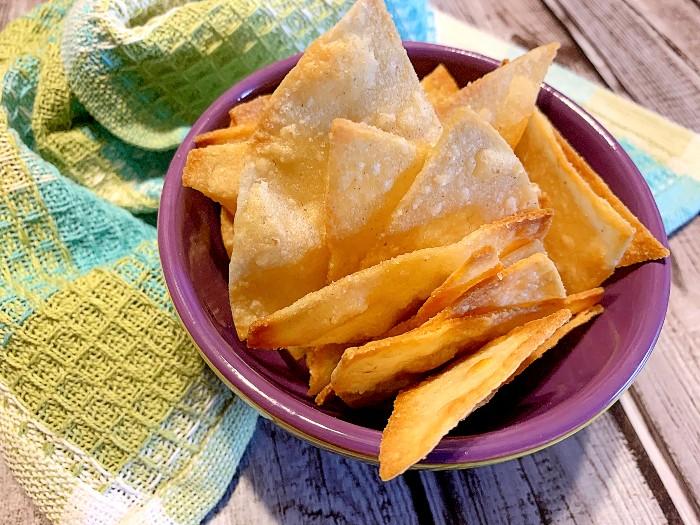Homemade Air Fryer Tortilla Chips