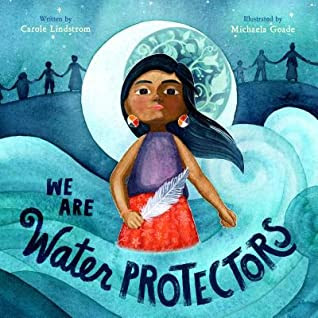 Cover Art for We are Water Protectors