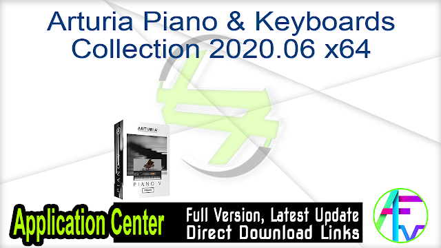 Arturia Piano & Keyboards Collection 2020.06 x64