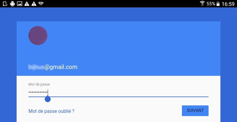 Option 1 : Identification avec compte Google Si vous avez lié votre smartphone ...  ou tablette Android à un compte Google dont vous avez le mot de passe, après ...  un gestionnaire de mots de passe pour retrouver facilement votre code perdu.