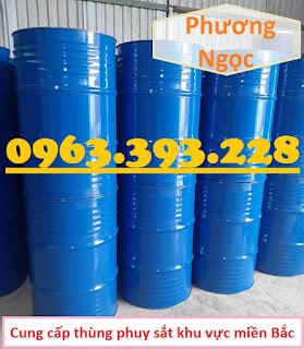 Thùng phuy sắt 220L nắp kín, thùng phuy đựng dầu, thùng phuy 2 nắp nhỏ Z1962543313956_20f74ba13eaf9ed692149b182d3dee24