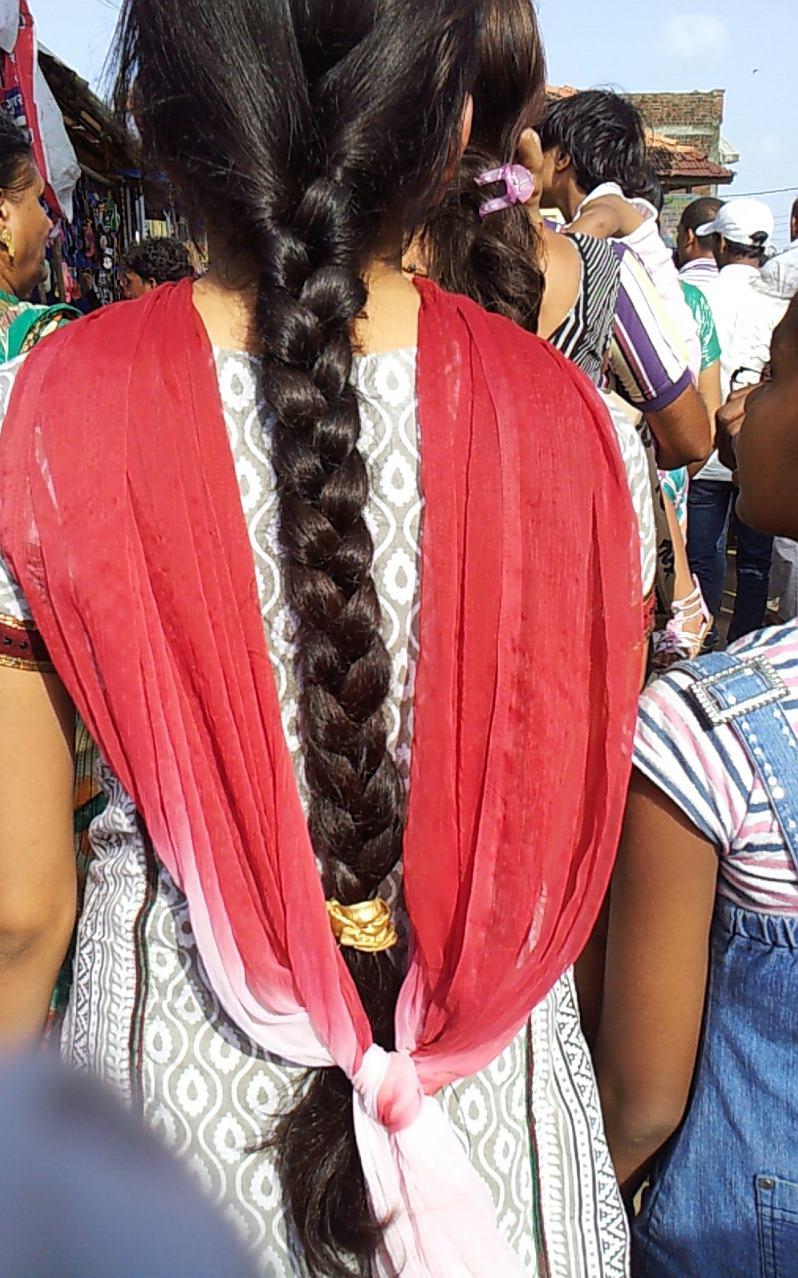 Long Hair Girls Indian Village Girls And Their Long Hair