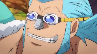 ワンピースアニメ ワノ国編 フランキー | ONE PIECE FRANKY