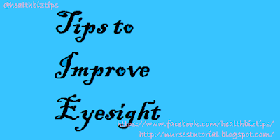 4 Tips to Improve Eyesight