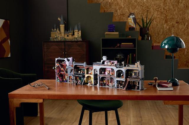 Figuras: Estrena septiembre con el LEGO Harry Potter Callejón Diagón