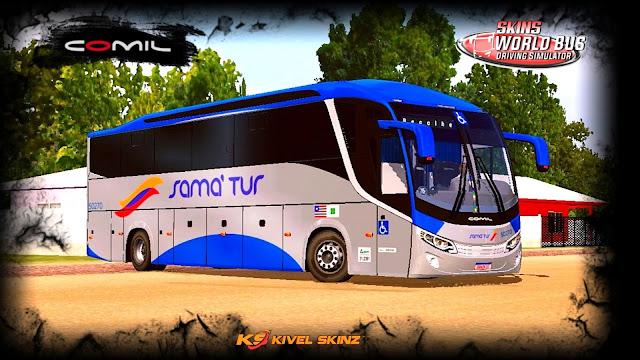 COMIL 1200 4X2 - VIAÇÃO SAMATUR TRANSPORTE E TURISMO
