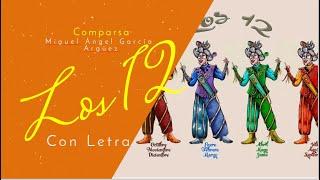 """Presentación con Letra de la Comparsa """"Los Doce"""" (2016)"""