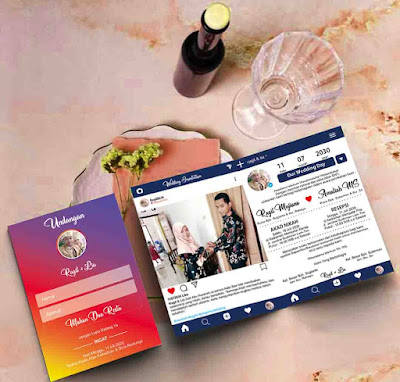 Download Template Undanan Instagram