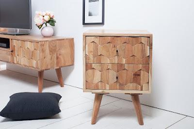 skrinky Reaction, moderný nábytok, nočné stolíky
