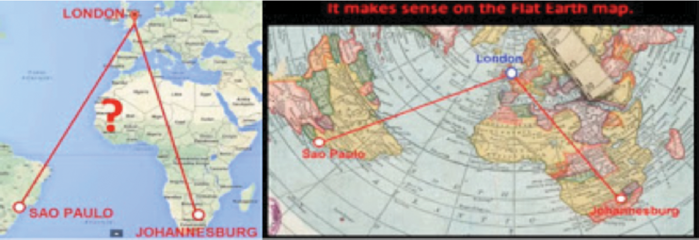 Truth center research flight routes prove flat earth such insane ridiculous detours would make no sense on the globe but then they make perfect sense when applied to the flat earth gumiabroncs Image collections
