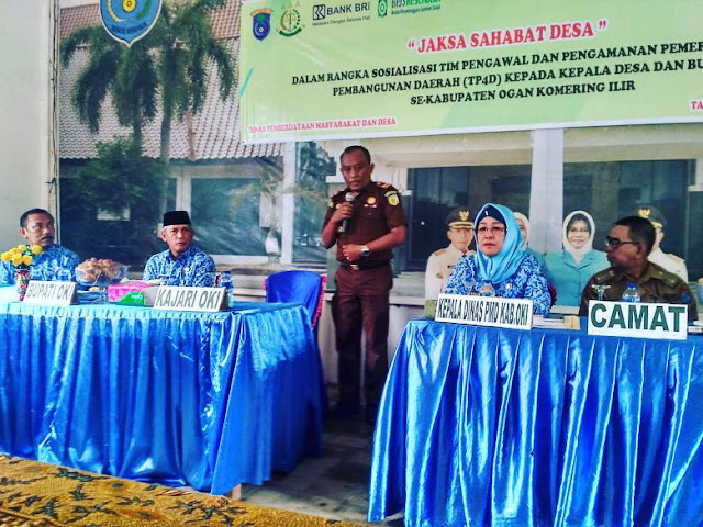 Bupati OKI Apresiasi Program Jaksa Sahabat Desa