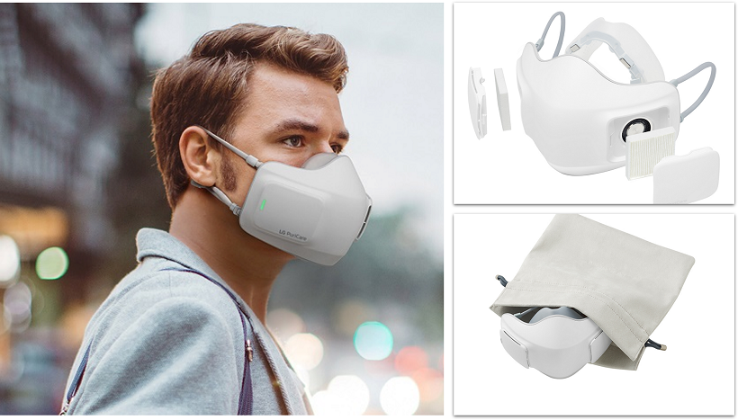 LG releases PuriCare™ Wearable Air Purifier and new line of Air Conditioners with UVnano Technology