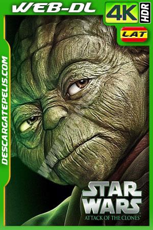 Star Wars Episodio II: El ataque de los clones (2002) 4K HDR WEB-DL  Latino – Ingles