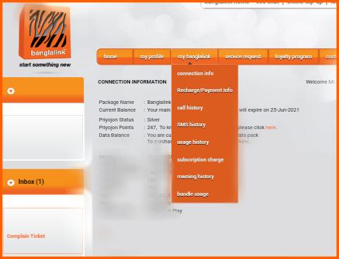 Banglalink Online Service