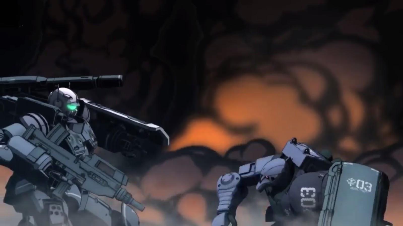 Mobile Suit Gundam The Origin IV Battle Action PV + Theme Song