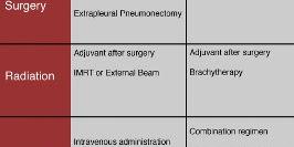 Treatment of Malignant Pleural Mesothelioma