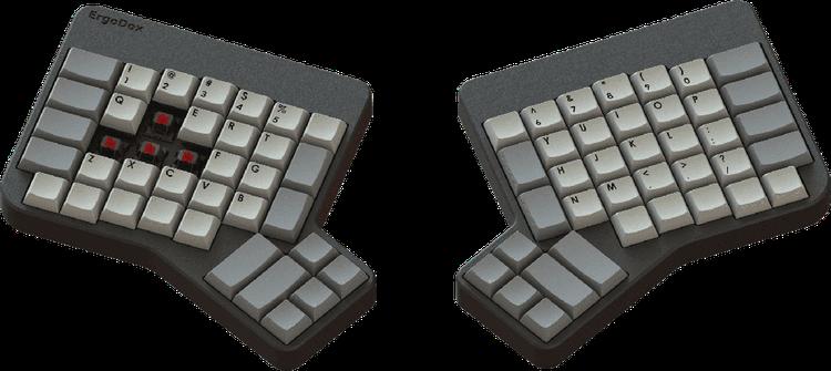 ergodox gamepad