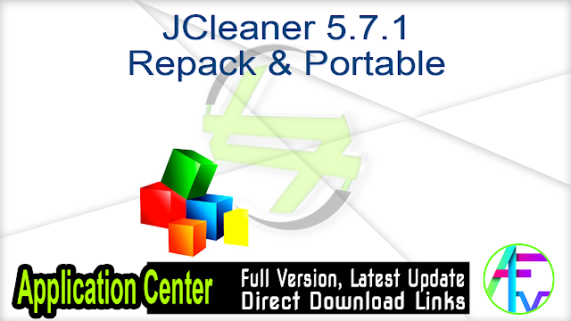 JCleaner 5.7.1 Repack & Portable
