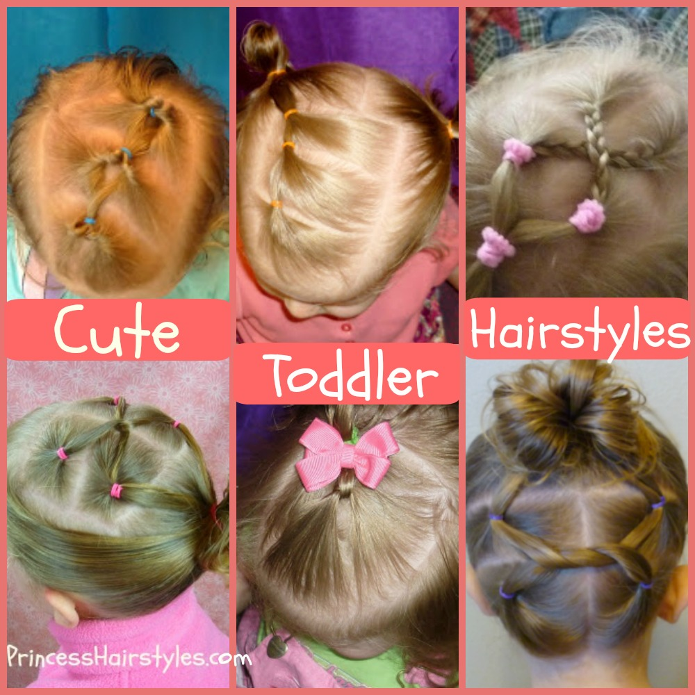 6 easy toddler hairstyles | hairstyles for girls - princess