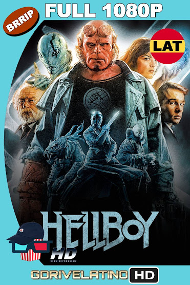 Hellboy (2004) BRRip 1080p Latino-Ingles MKV
