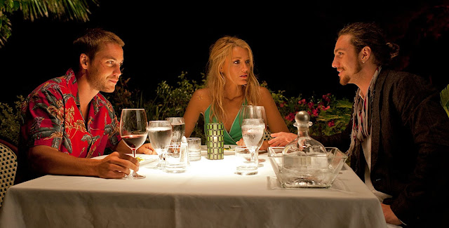 Blake Lively, with Taylor Kitsch and Aaron Taylor-Johnson In Savages directed by Oliver Stone, based on the book by Don Winslow