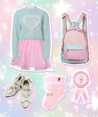 katie angelic pretty maniaq mintyfrills fairy kei