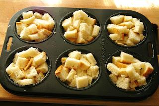 french toasts muffins, muffinki śniadaniowe
