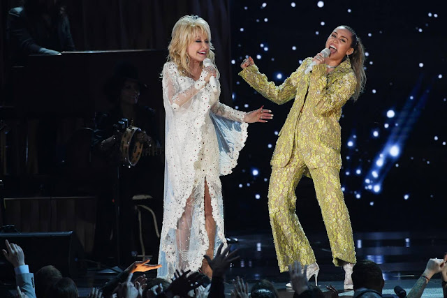 Dolly Parton and Miley Cyrus (2019)