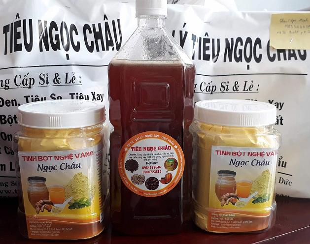 Combo tinh bột nghệ mật ong siêu tiết kiệm