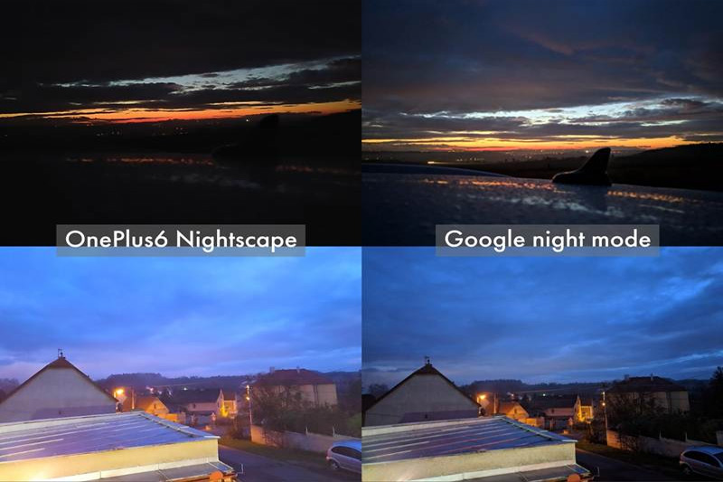 مقارنة كاميرا جوجل مع OnePlus صور