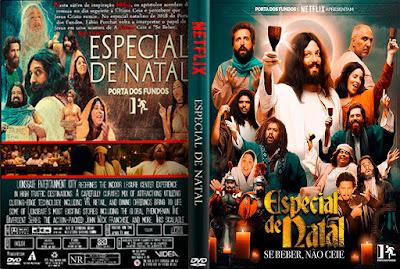 Filme Especial de Natal - Se Beber Não Ceie DVD Capa