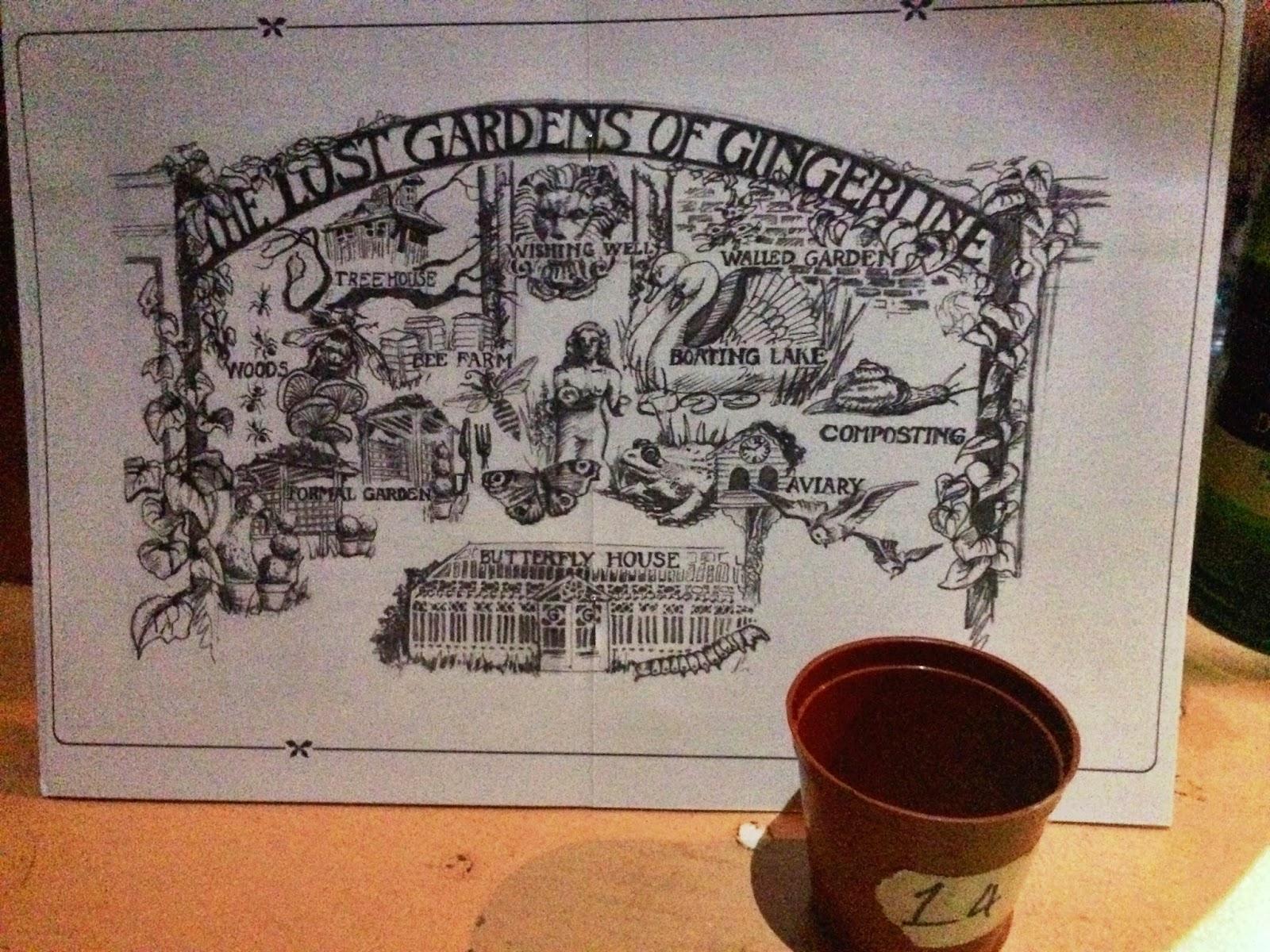 Lost Gardens Of Gingerline Map