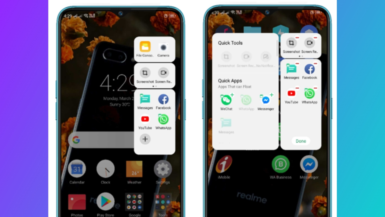 Cara Pasang Smart Sidebar Realme C11