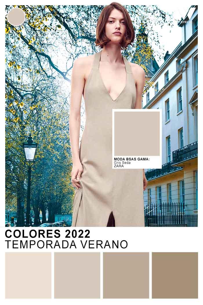 tonos nude y tierras neutros colores de moda 2022 verano