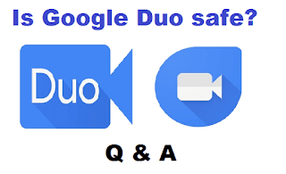 Google duo is Safe